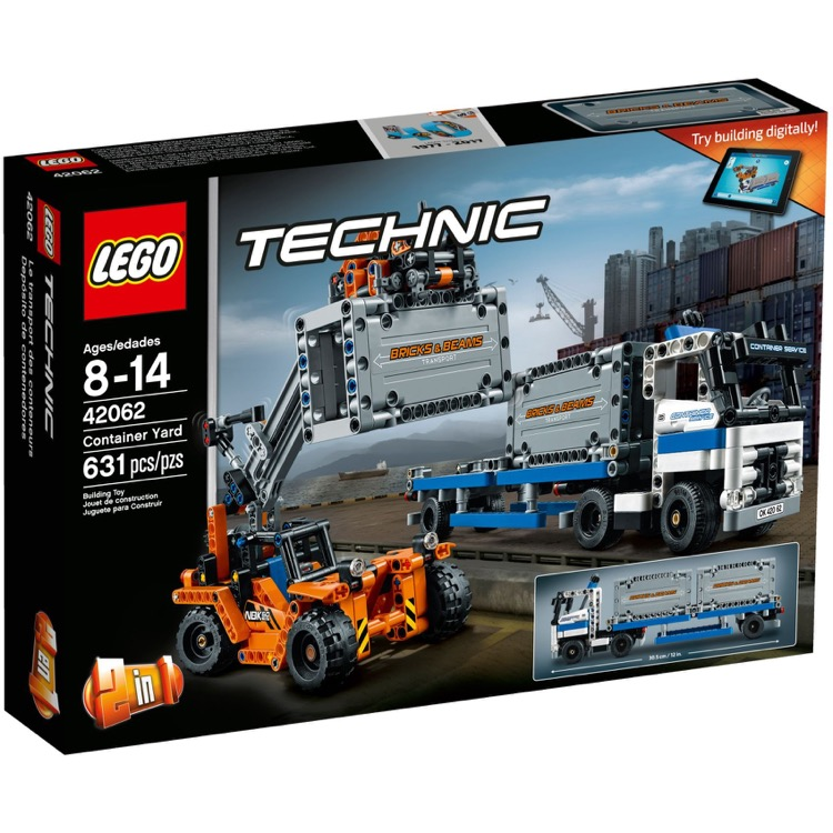 LEGO Technic Sets: 42062 Container Yard NEW *Damaged Box*