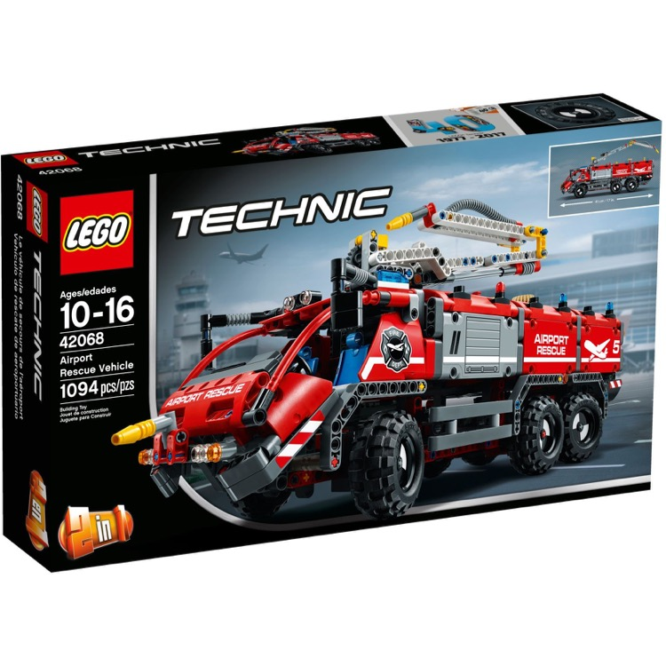 LEGO Technic Sets: 42068 Airport Rescue Vehicle NEW