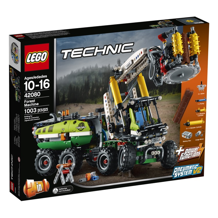 LEGO Technic Sets: 42080 Forest Machine NEW
