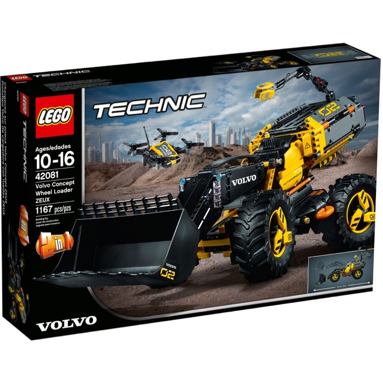 LEGO Technic Sets: 42081 Volvo Concept Wheel Loader ZEUX NEW