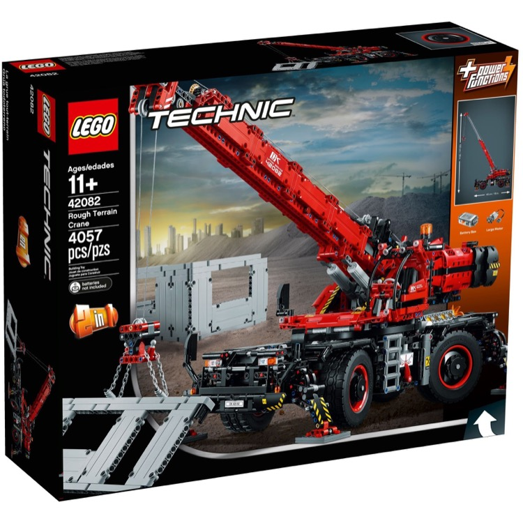 LEGO Technic Sets: 42082 Rough Terrain Crane NEW