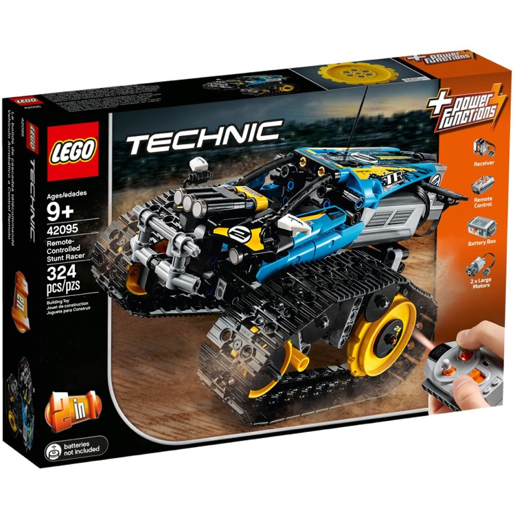 LEGO Technic Sets: 42095 Remote-Controlled Stunt Racer NEW
