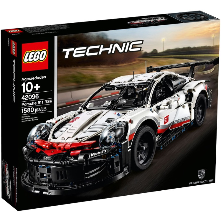 LEGO Technic Sets: 42096 Porsche 911 RSR NEW