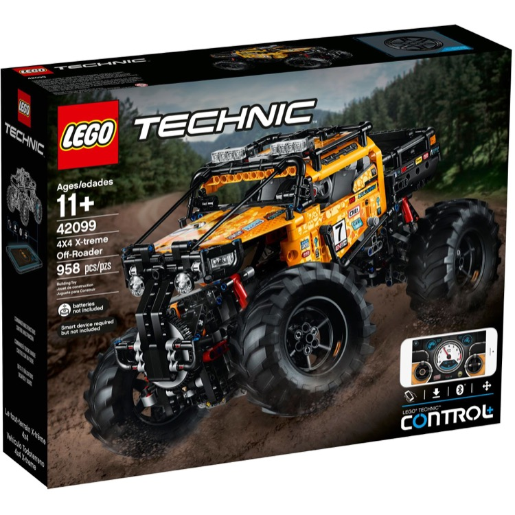 LEGO Technic Sets: 42099 4X4 X-treme Off-Roader NEW