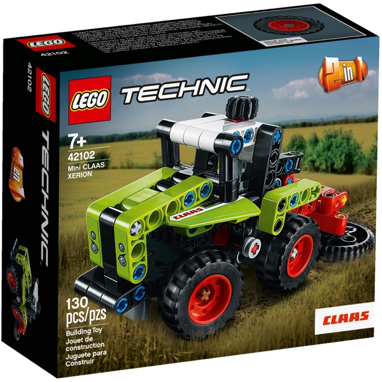 LEGO Technic Sets: 42102 Mini CLAAS XERION NEW