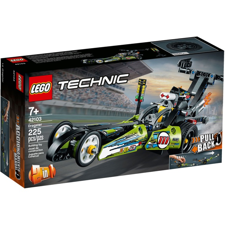 LEGO Technic Sets: 42103 Dragster NEW