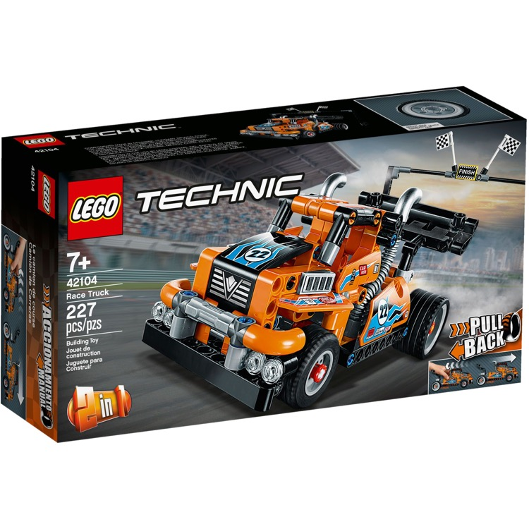 LEGO Technic Sets: 42104 Race Truck NEW