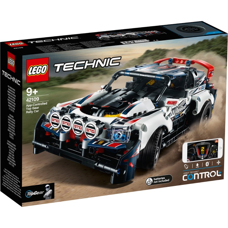 LEGO Technic Sets: 42109 App-Controlled Top Gear Rally Car NEW