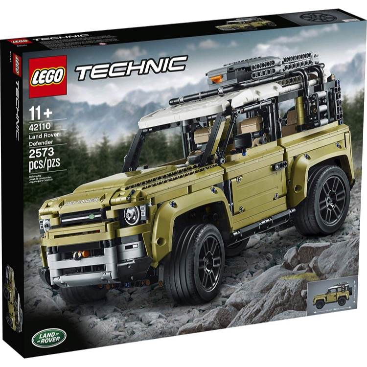 LEGO Technic Sets: 42110 Land Rover Defender NEW