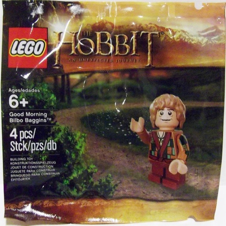 LEGO The Hobbit Sets: 5002130 Good Morning Bilbo Baggins NEW