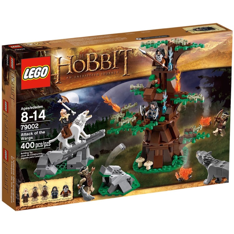 LEGO The Hobbit Sets: 79002 Attack of the Wargs NEW