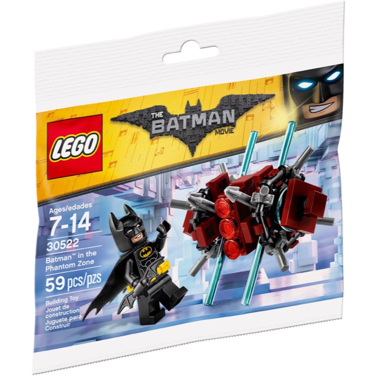 LEGO The LEGO Batman Movie Sets: 30522 Batman in the Phantom Zone NEW