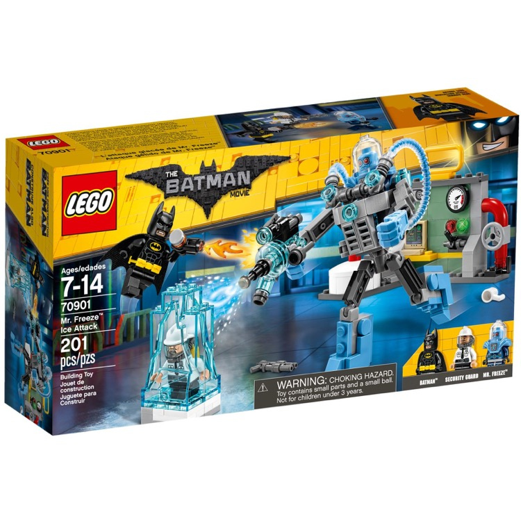 LEGO The LEGO Batman Movie Sets: 70901 Mr. Freeze Ice Attack NEW