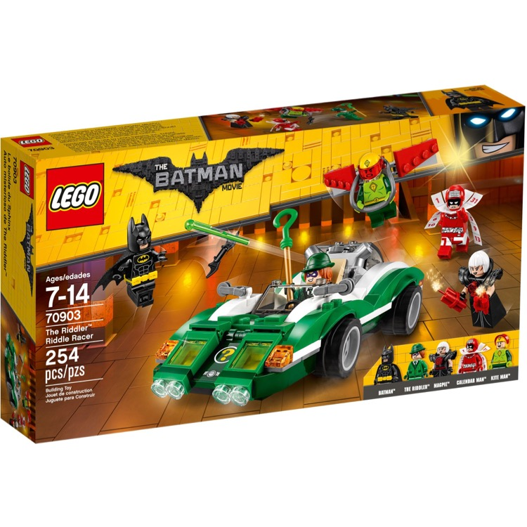 LEGO The LEGO Batman Movie Sets: 70903 The Riddler Riddle Racer NEW