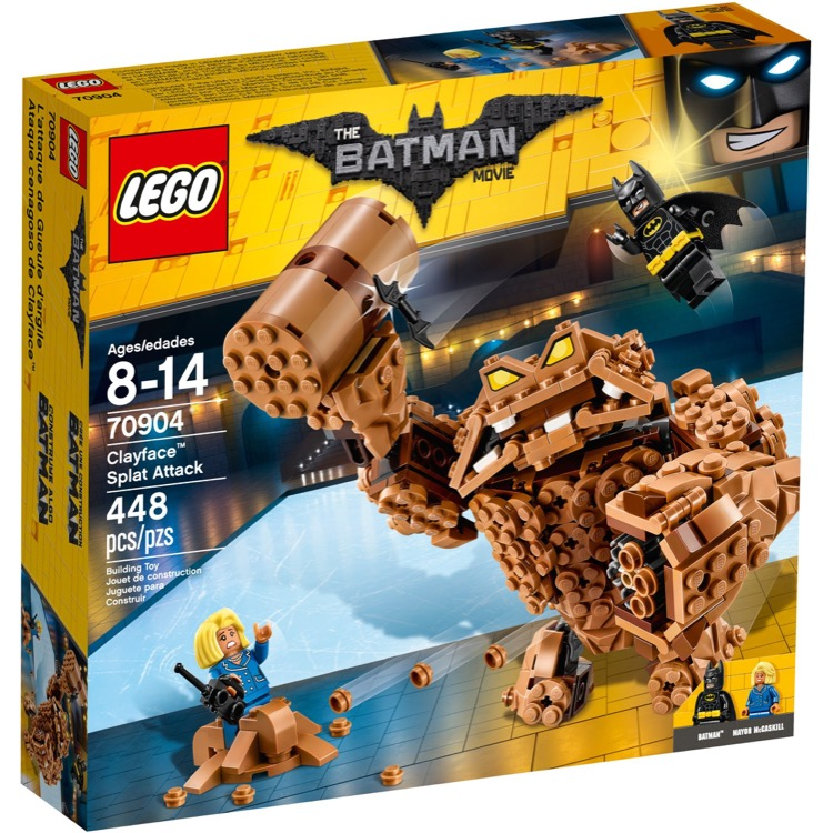 LEGO The LEGO Batman Movie Sets: 70904 Clayface Splat Attack NEW