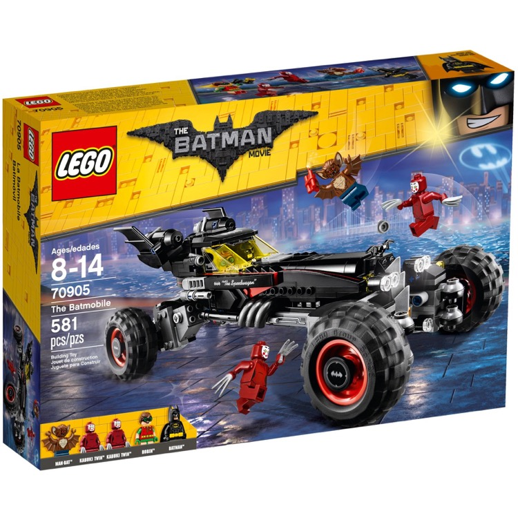 LEGO The LEGO Batman Movie Sets: 70905 The Batmobile NEW