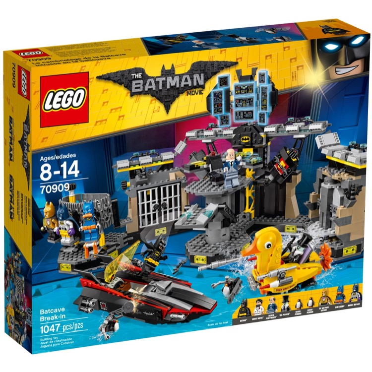 LEGO The LEGO Batman Movie Sets: 70909 Batcave Break-In NEW