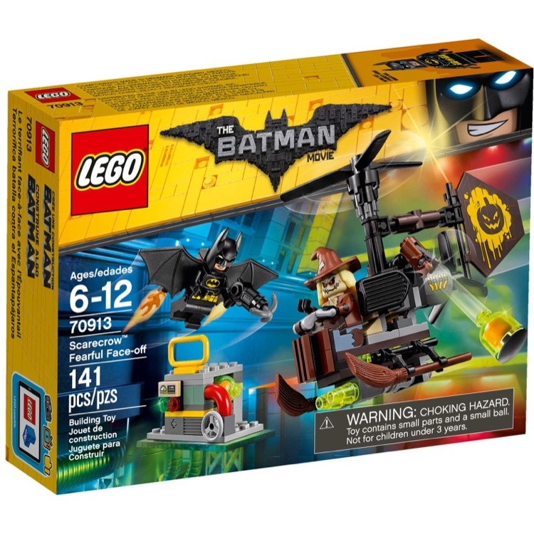 LEGO The LEGO Batman Movie Sets: 70913 Scarecrow Fearful Face-off NEW