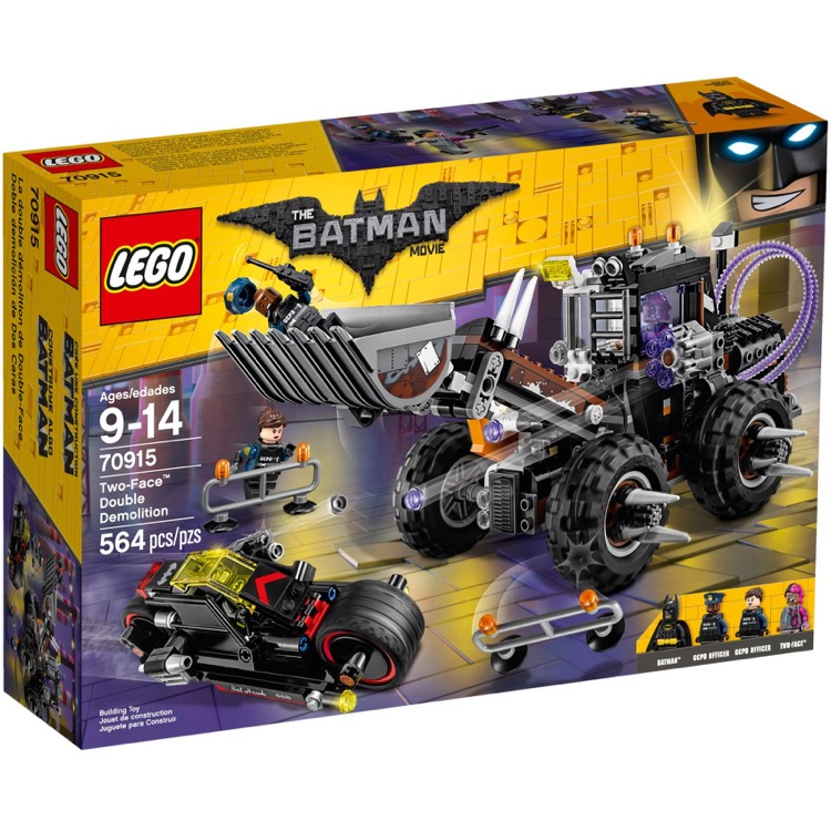 LEGO The LEGO Batman Movie Sets: 70915 Two-Face Double Demolition NEW