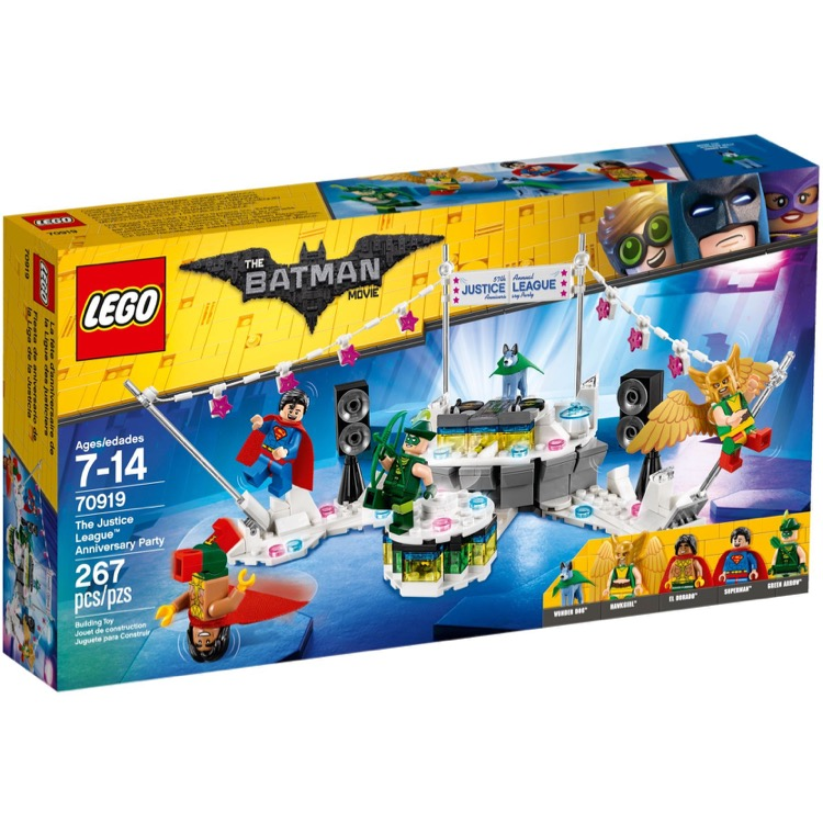 Lego The Lego Batman Movie Sets 70919 The Justice League Anniversary Party New