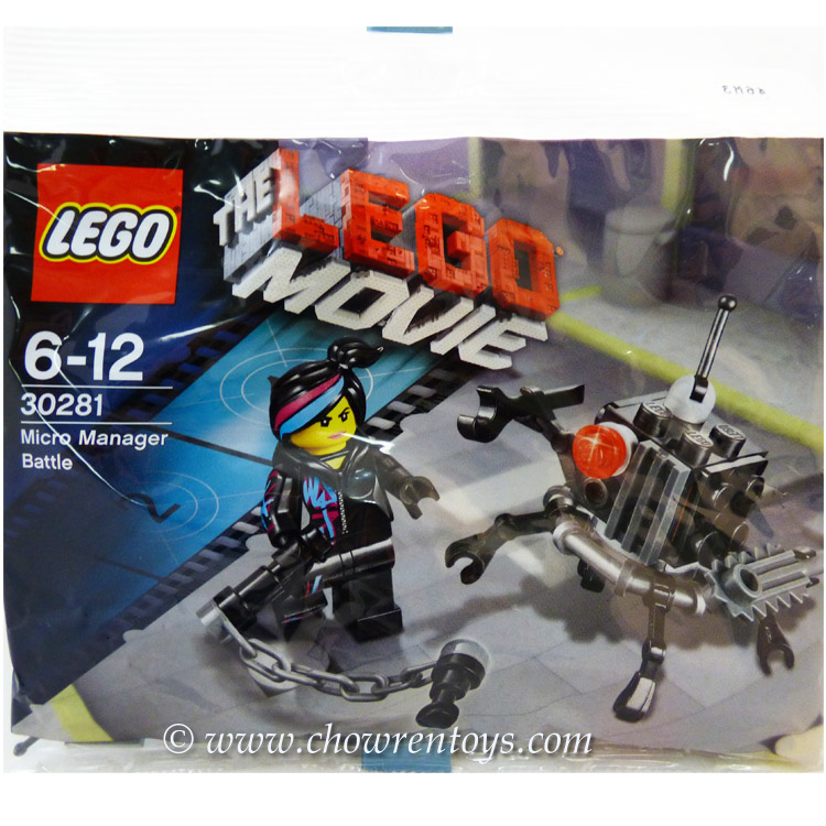 Lego The Lego Movie Sets 30281 Micro Manager Battle New