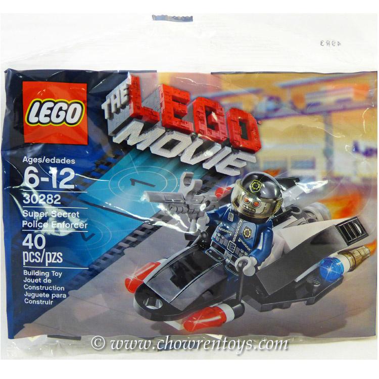Lego The Lego Movie Sets 30282 Super Secret Police Enforcer New