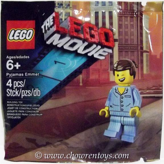 LEGO THE LEGO MOVIE Sets: 5002045 Pyjamas Emmet NEW