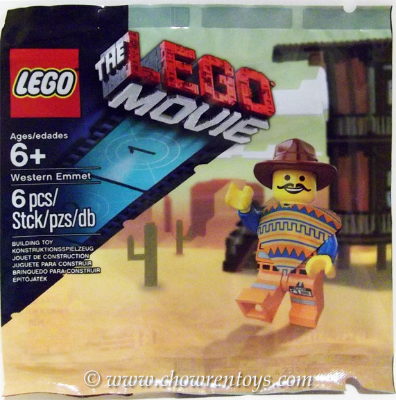 LEGO The LEGO Movie Sets: 5002204 Western Emmet NEW