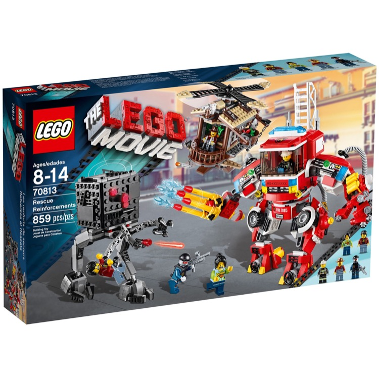 LEGO THE LEGO MOVIE Sets: 70813 Rescue Reinforcements NEW