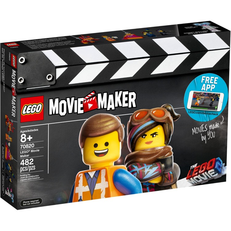 LEGO The LEGO Movie Sets: The LEGO Movie 2 70820 LEGO Movie Maker NEW