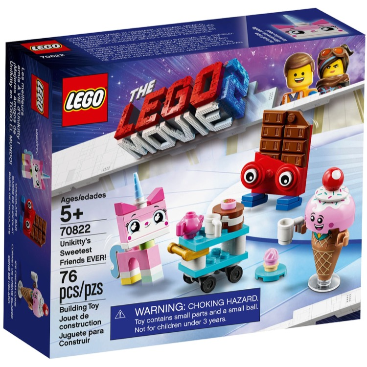 Lego The Lego Movie Sets The Lego Movie 2 70822 Unikitty S Sweetest Friends Ever New