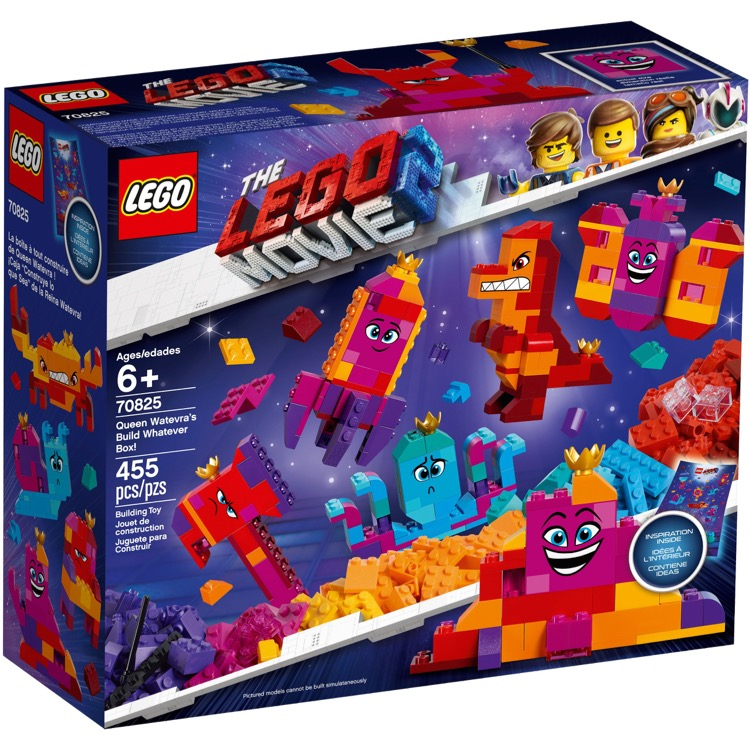 LEGO The LEGO Movie Sets: 70825 The LEGO Movie 2 Queen Watevra's Build Whatever Box! NEW