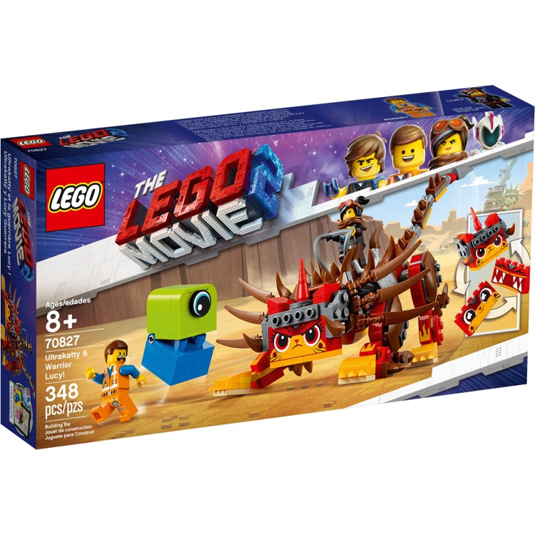 LEGO The LEGO Movie Sets: The LEGO Movie 2 70827 Ultrakatty & Warrior Lucy! NEW