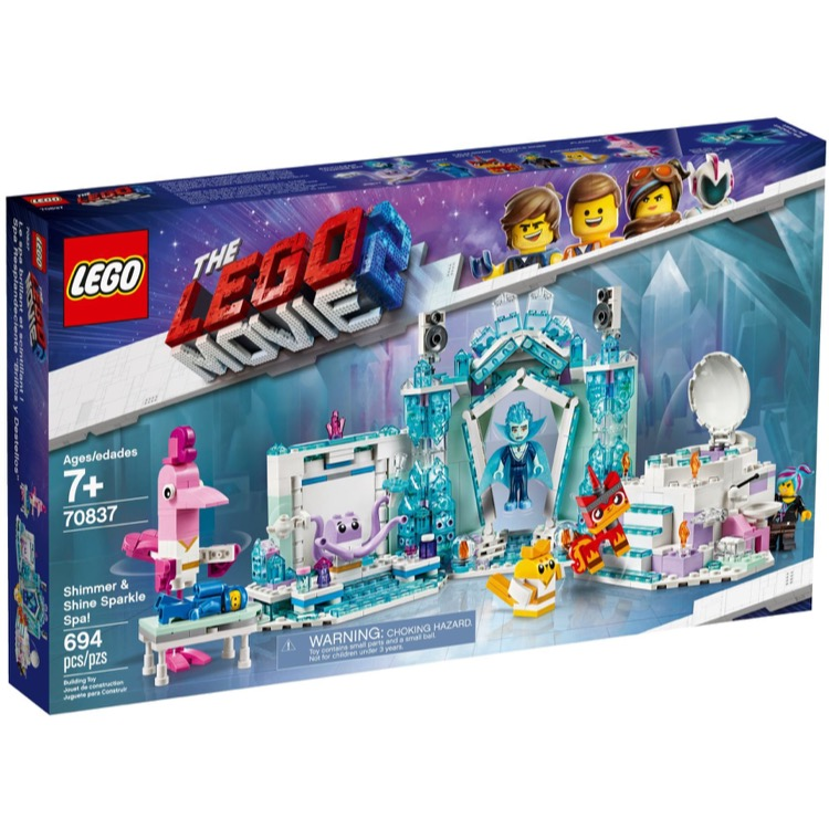 Lego The Lego Movie Sets The Lego Movie 2 70837 Shimmer Shine Sparkle Spa New