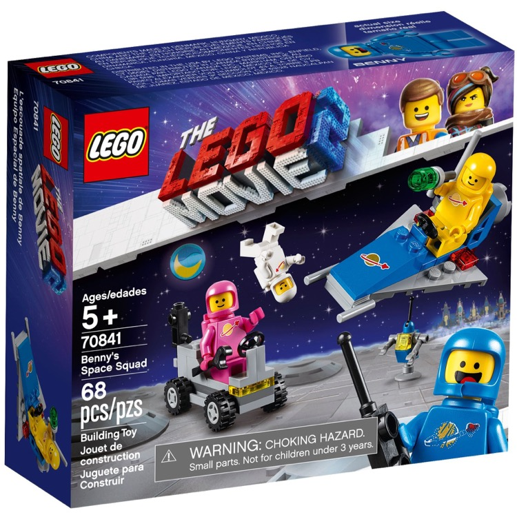 LEGO The LEGO Movie Sets: 70841 The LEGO Movie 2 Benny's Space Squad NEW