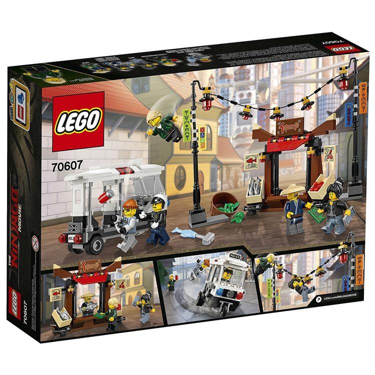 Lego The Lego Ninjago Movie Sets 70607 Ninjago City Chase New