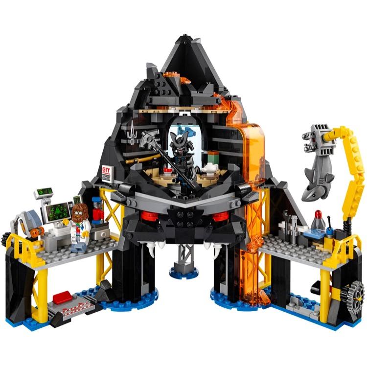 Lego volcano garmadon ninjago movie unopened new factory sealed