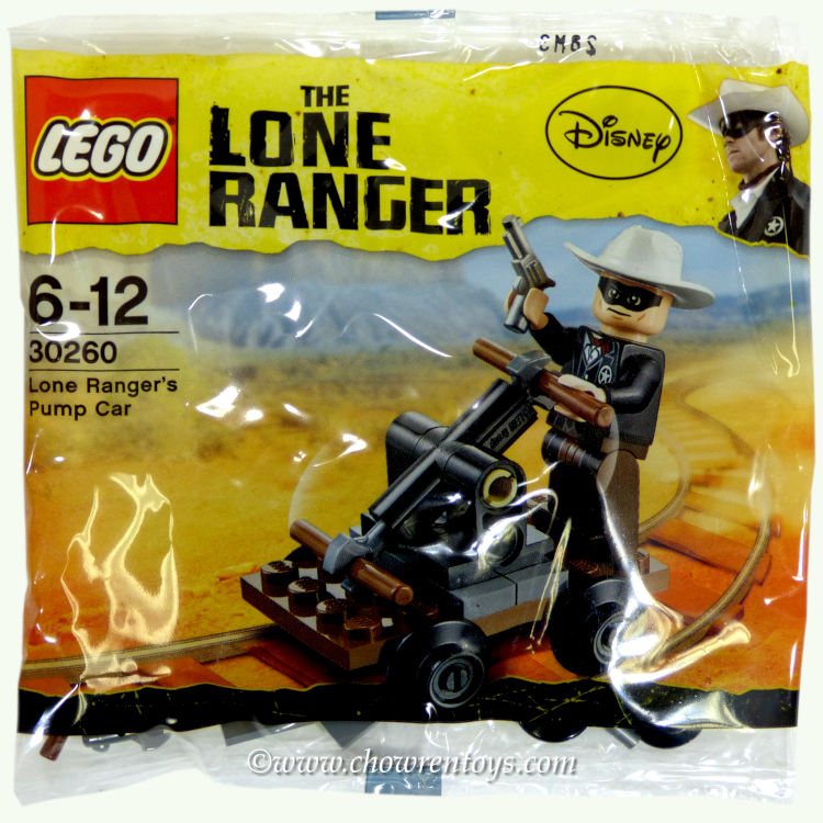 LEGO Lone Ranger Sets: 30260 Lone Ranger's Pump Car NEW