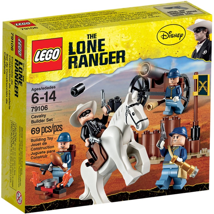LEGO Lone Ranger Sets: 79106 Cavalry Builder Set NEW
