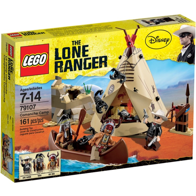 LEGO Lone Ranger Sets: 79107 Comanche Camp NEW