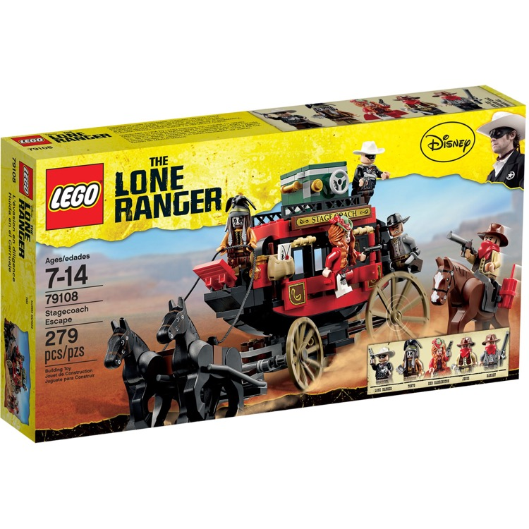 LEGO Lone Ranger Sets: 79108 Stagecoach Escape NEW