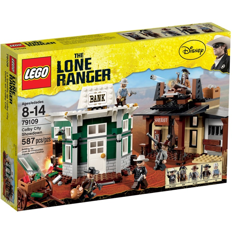 LEGO Lone Ranger Sets: 79109 Colby City Showdown NEW