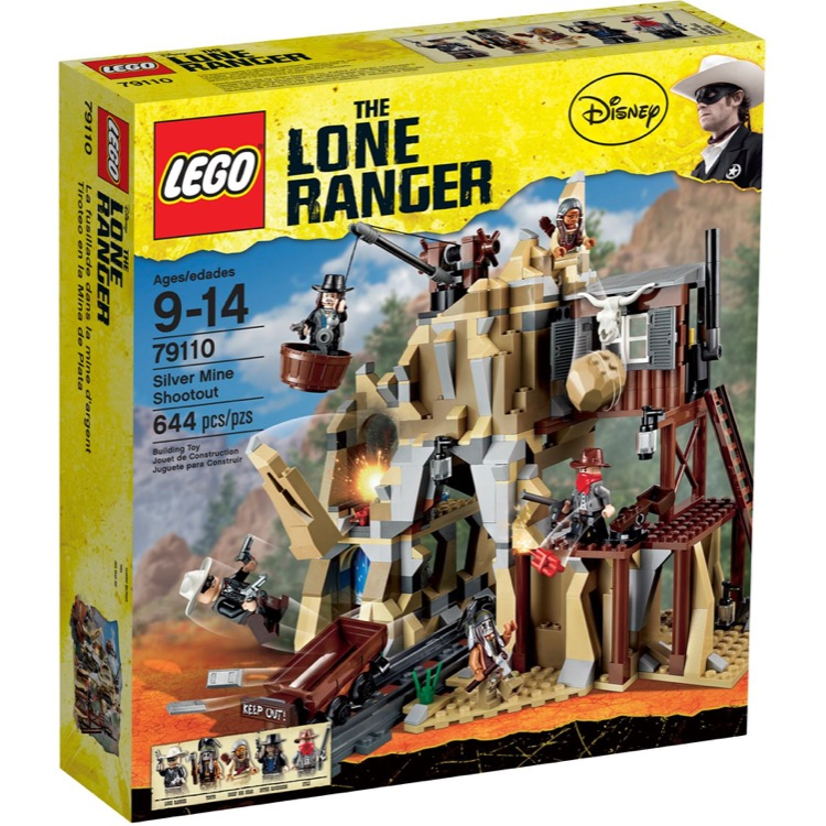 LEGO Lone Ranger Sets: 79110 Sliver Mine Shootout NEW