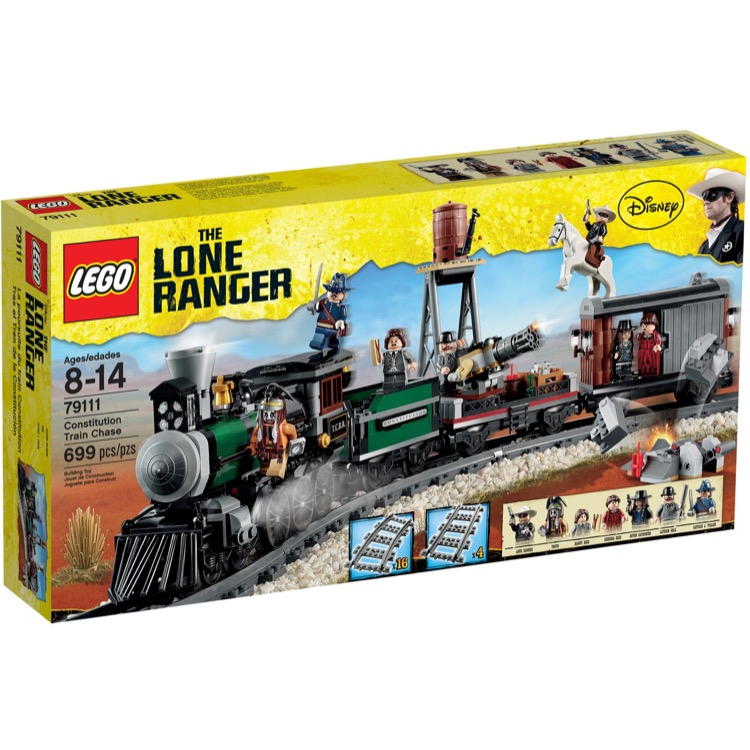LEGO Lone Ranger Sets: 79111 Constitution Train Chase NEW