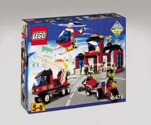 LEGO Town Sets: LEGO City Center 6478 Fire Station NEW *Rough Shape*LEGO?Ž?Town?Ž?Sets: LEGO City?Ž?Center 6478 Fire Station NEW *Rough Shape*