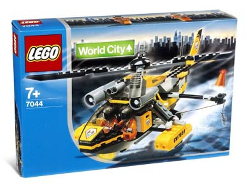 LEGO Town Sets: World City 7044 Rescue Chopper NEW