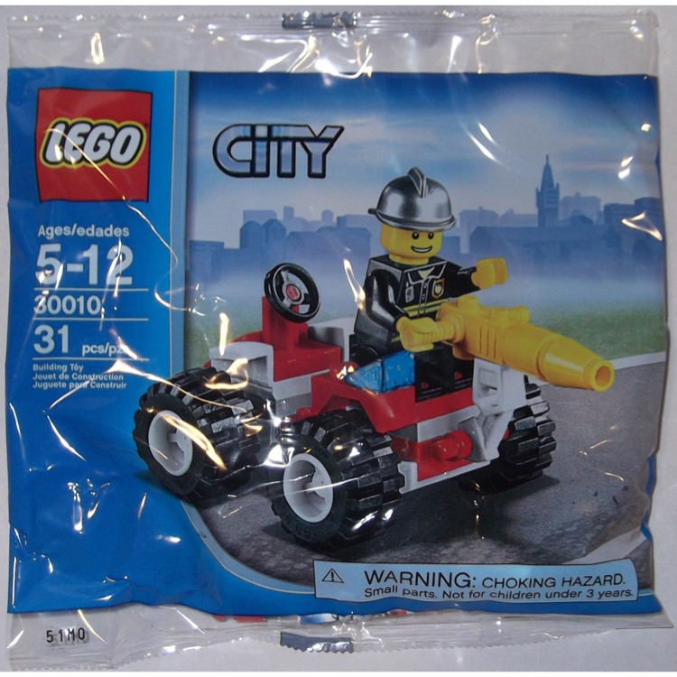 LEGO Town Sets: City 30010 Fire Chief NEW