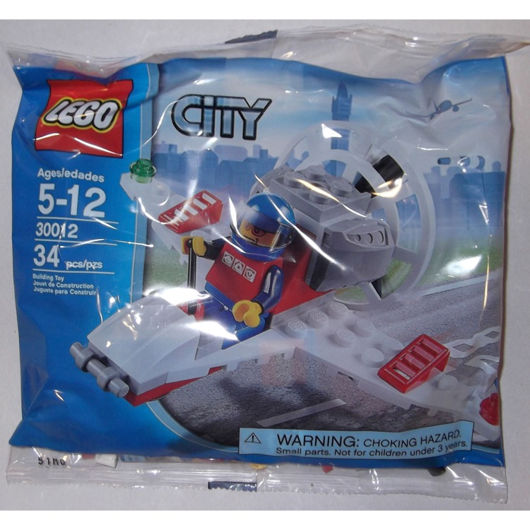 LEGO Town Sets: City 30012 Mini Airplane Boat NEW
