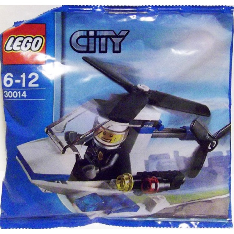 LEGO Town Sets: City 30014 Police Helicopter NEW