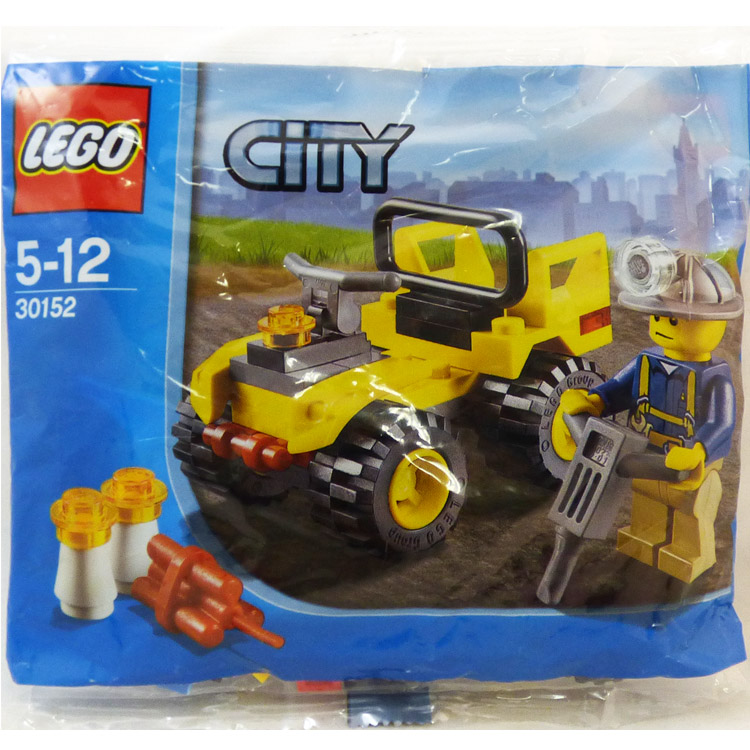 LEGO Town Sets: City 30152 Mining Quad NEW
